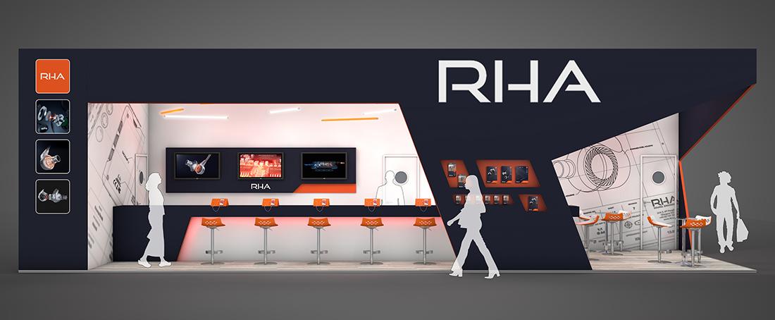 D Exhibition Uk : Rha exhibition design hu d