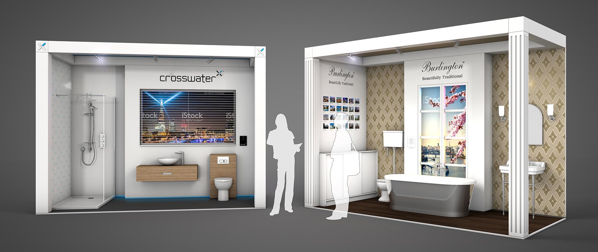 HU3D Exhibition Design Visualisation Crosswater Burlington