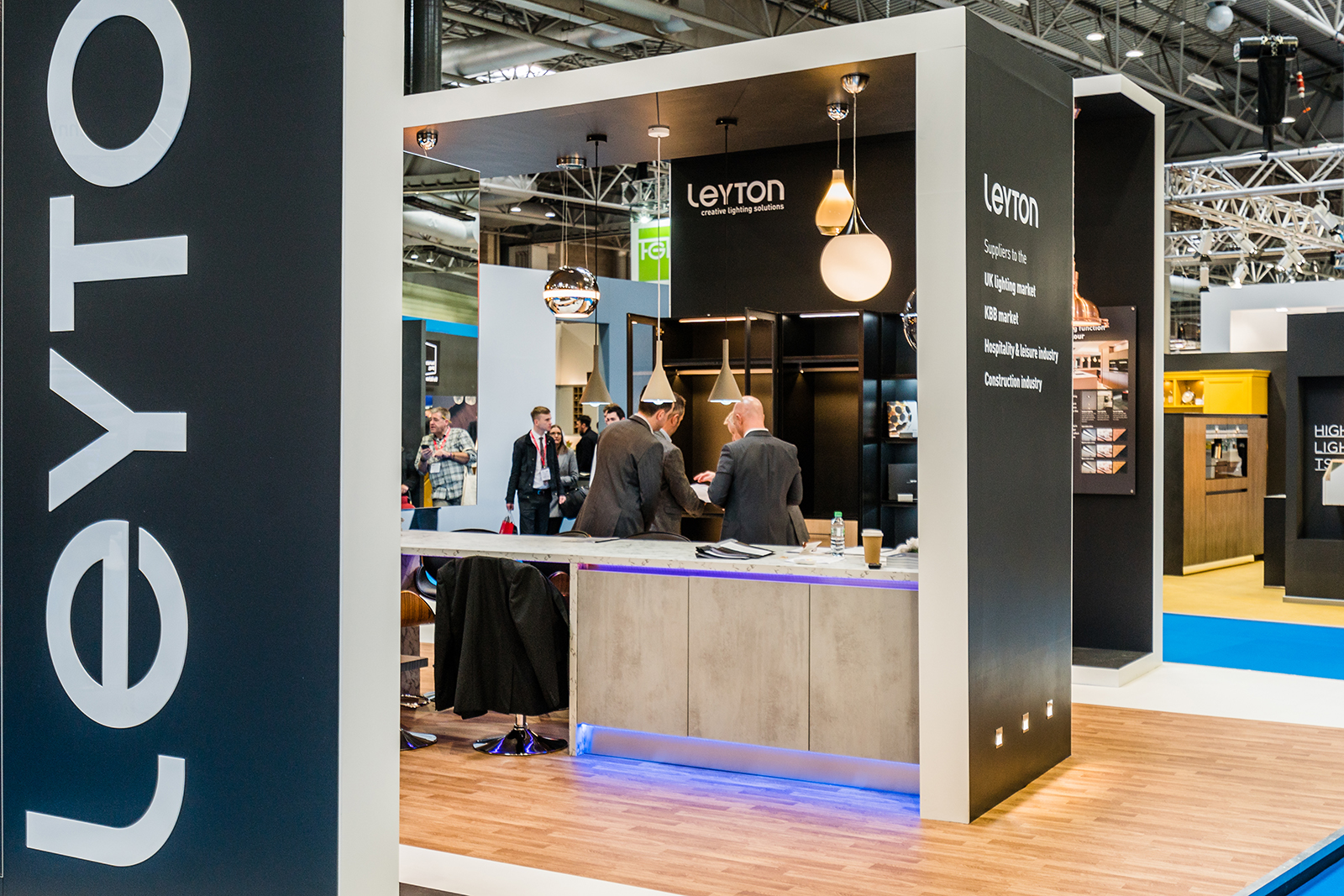 D Exhibition Uk : Leyton lighting kbb hu d exhibition design
