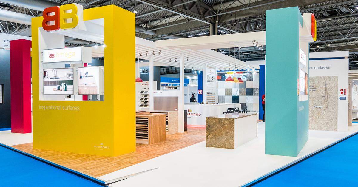 D Exhibition Uk : Bushboard kbb hu d feature exhibition design
